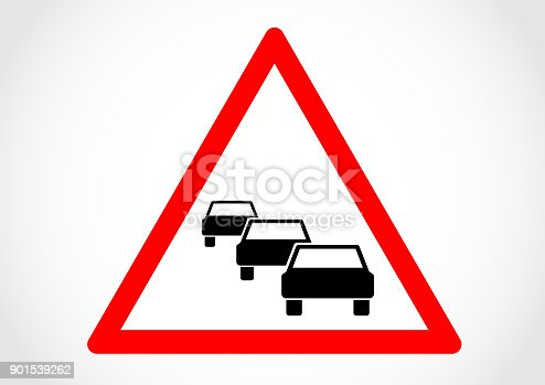 istock Traffic queues likely ahead 901539262