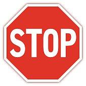 Traffic road sign - VECTOR