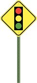Traffic Sign - Stop Ahead