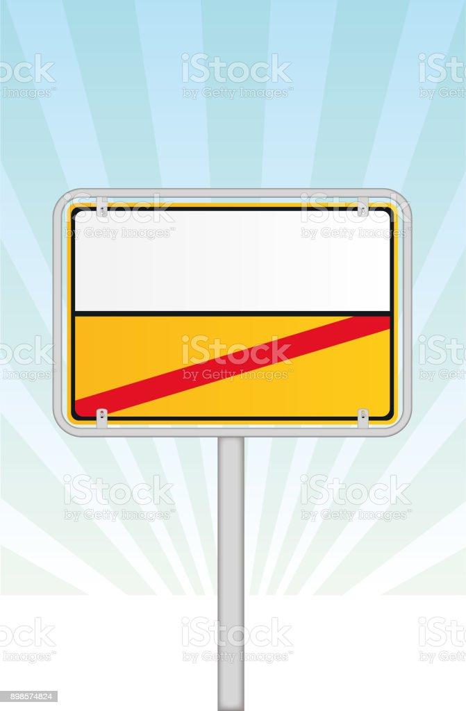 Traffic Sign – Vektorgrafik