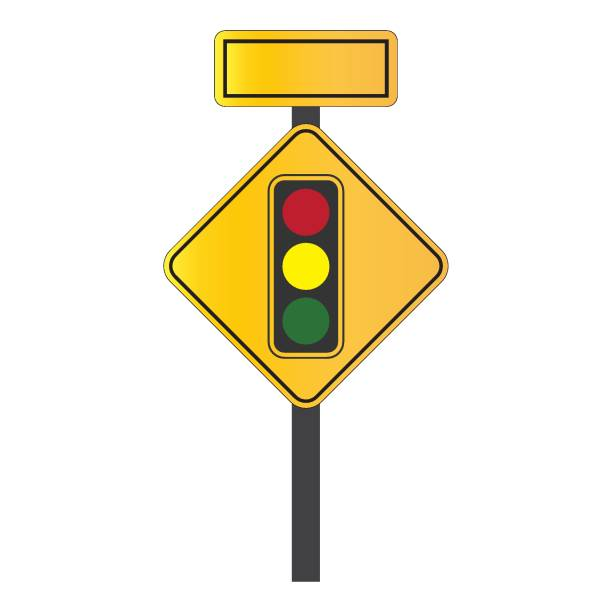 Traffic Signal Symbol Sign Stop Ahead Signs Traffic Light Ahead