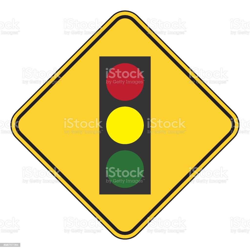 Traffic Signal Symbol Sign Stop Ahead Signs Traffic Light Ahead ... for Traffic Light Yellow Icon  181pct
