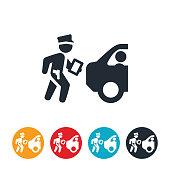Traffic Ticket Icon