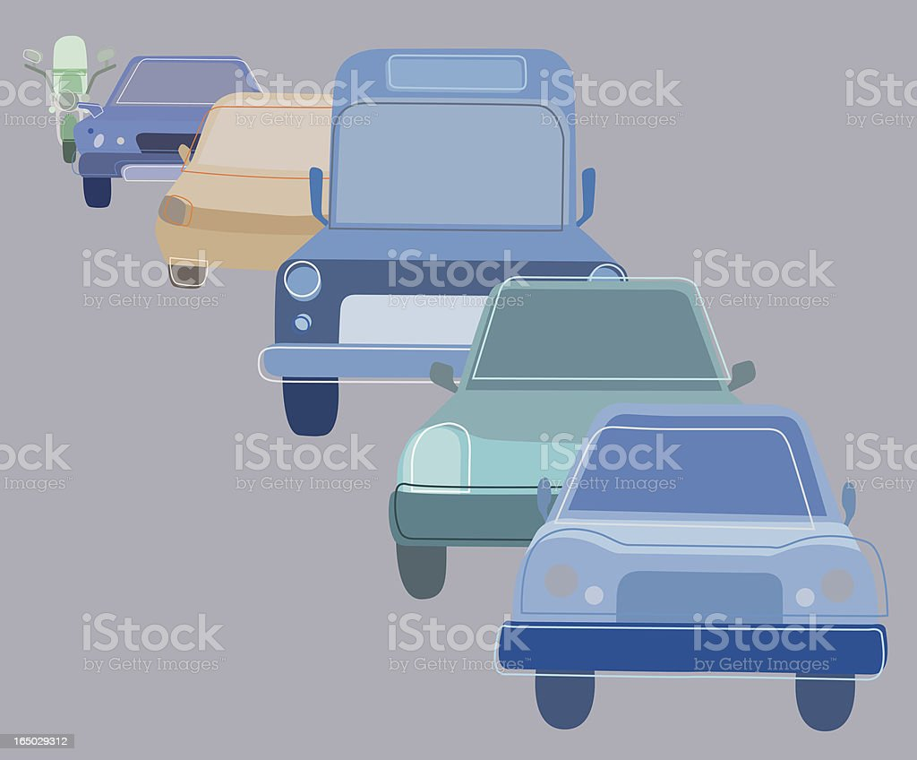 Traffic royalty-free stock vector art