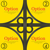 Traffic yellow background