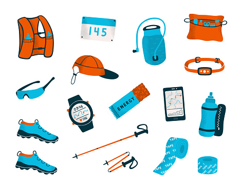 Trail running equipment and accessories