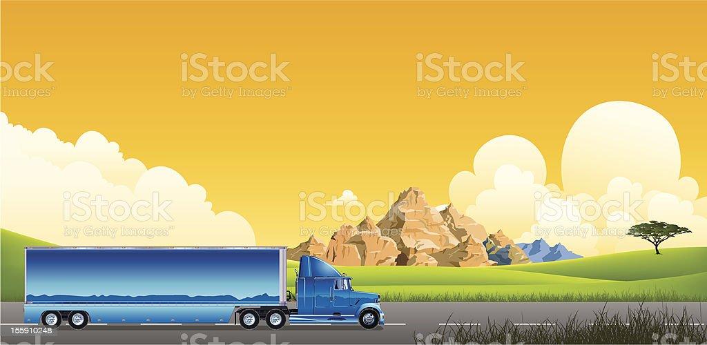 Trailer truck royalty-free trailer truck stock vector art & more images of car transporter