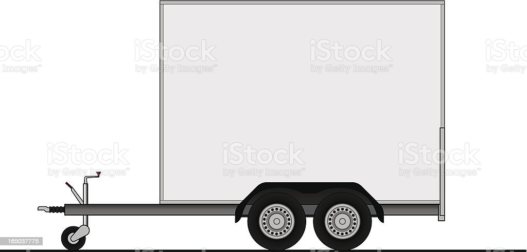 trailer royalty-free stock vector art