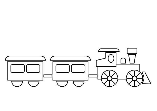 Locomotive Profil Vectoriels Et Illustrations Libres De Droits