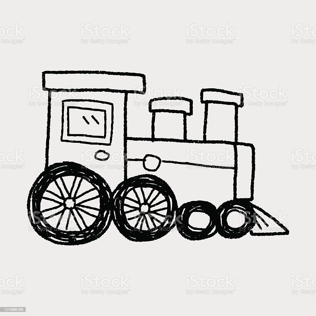 train doodle stock vector art 474368196 istock