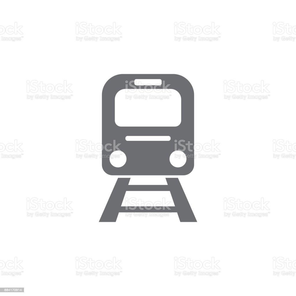 Icône de Train - clipart vectoriel de Art libre de droits