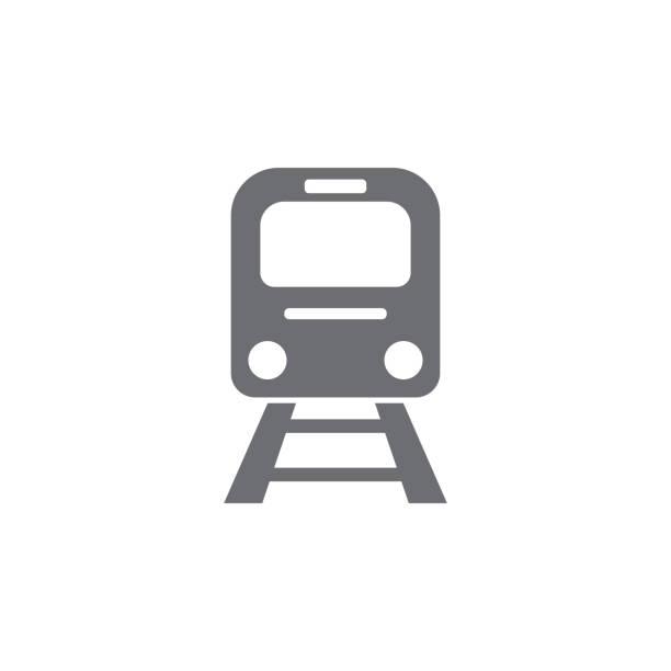 illustrations, cliparts, dessins animés et icônes de icône de train - métro