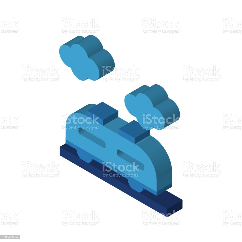 train isometric right top view 3d icon stock illustration download image now istock istock