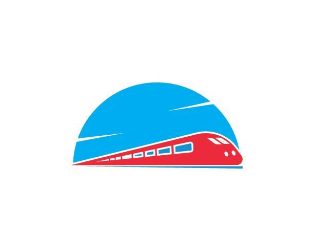 train vector icon illustration design train vector icon illustration design template high speed train stock illustrations