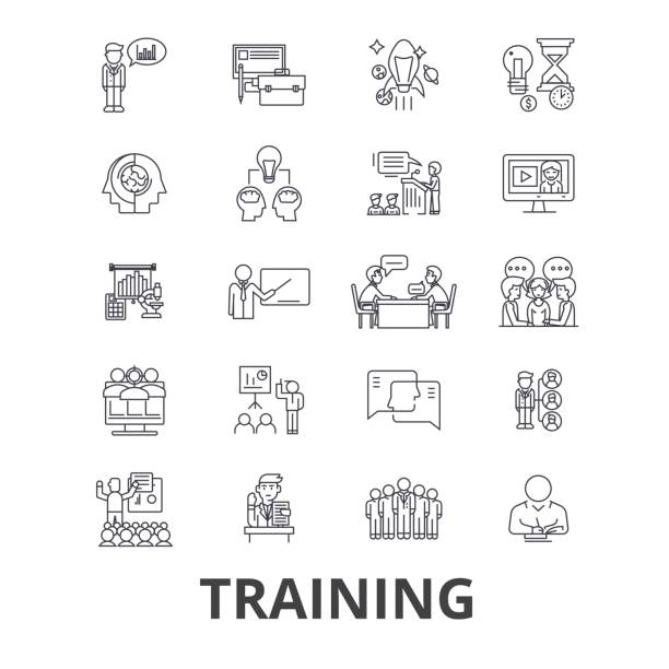 Royalty Free Adult Classroom Clip Art, Vector Images