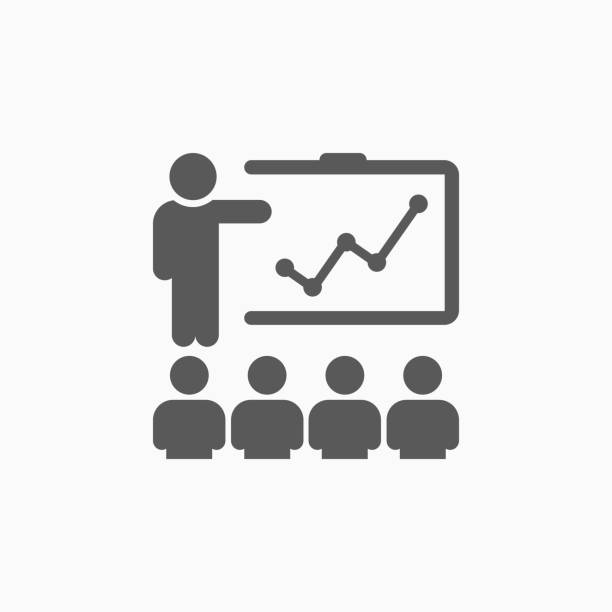 ilustraciones, imágenes clip art, dibujos animados e iconos de stock de icono de formación - training