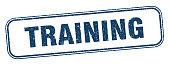 istock training stamp. training square grunge sign. label 1288682835