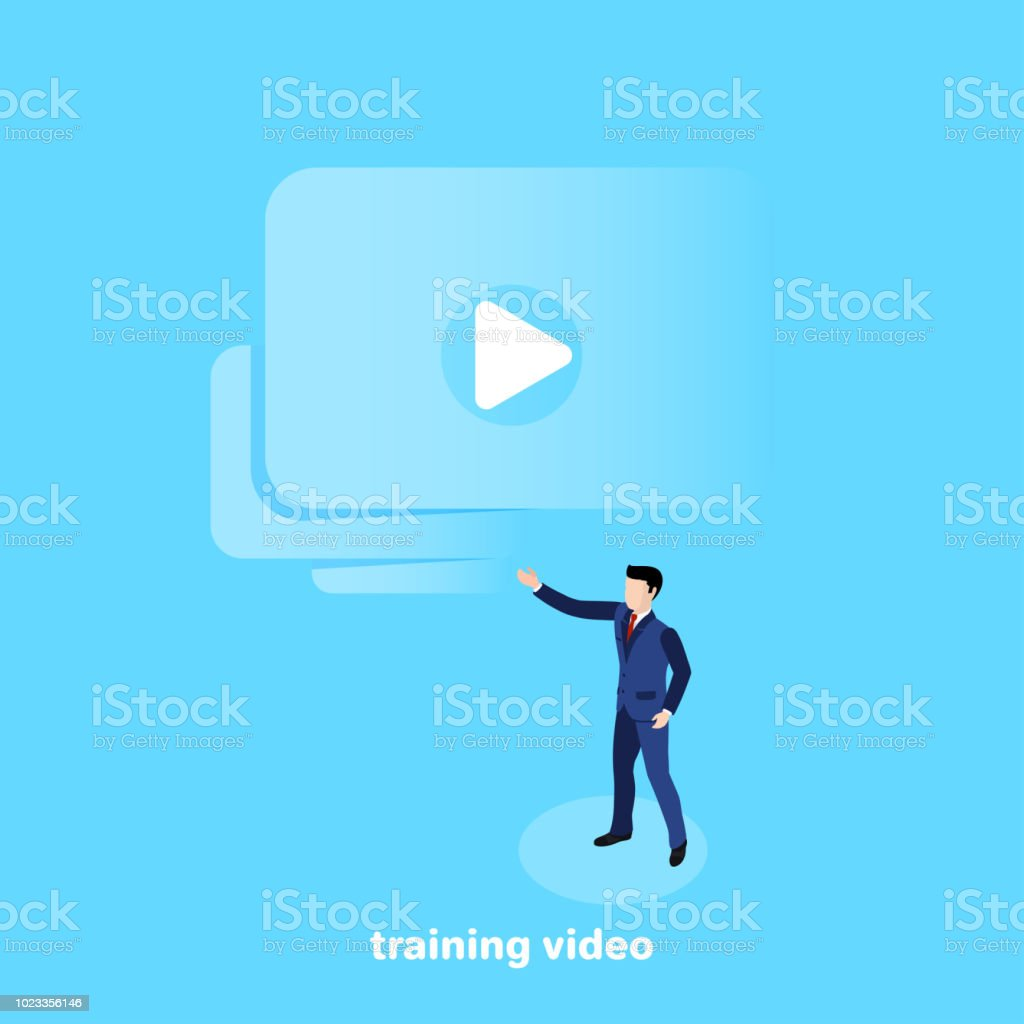 Training Video 2 Stock Illustration - Download Image Now