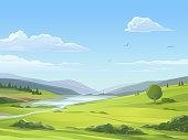 istock Tranquil Rural Landscape 1215698805