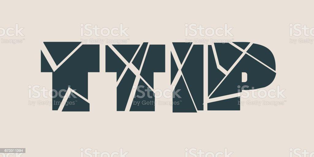 Ttip Transatlantic Trade And Investment Partnership Stock Vector Art