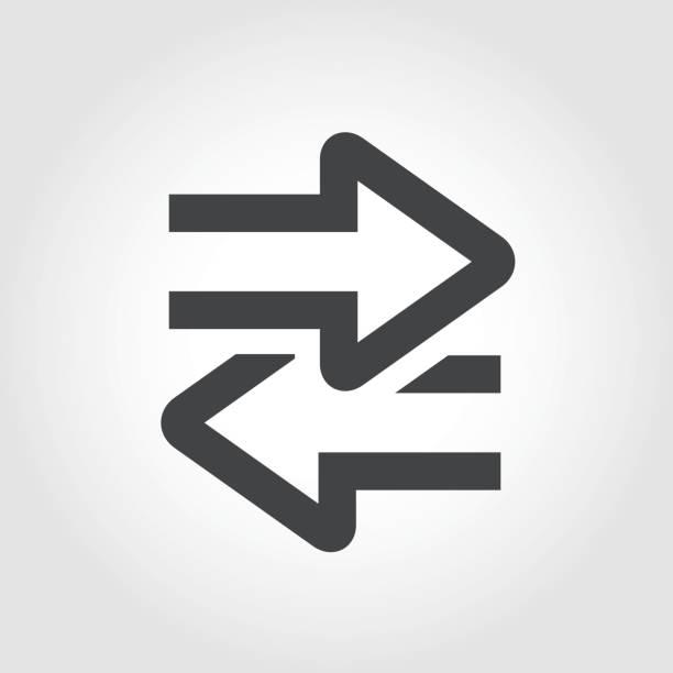 ilustraciones, imágenes clip art, dibujos animados e iconos de stock de transferencia de icono - serie icónica - interruptor