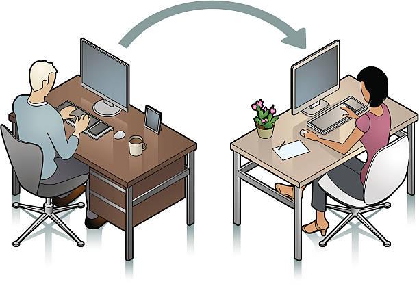 Transfer vector art illustration