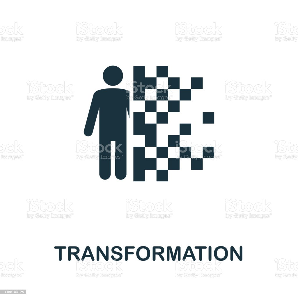 Transformation Vector Icon Symbol Creative Sign From