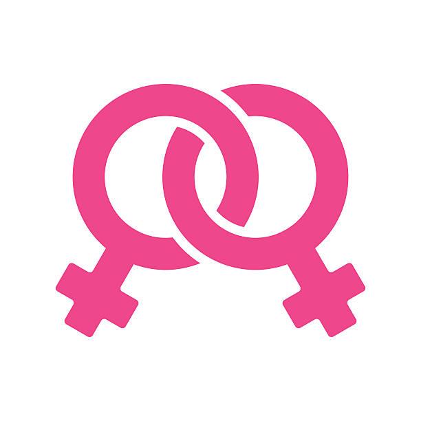 bildbanksillustrationer, clip art samt tecknat material och ikoner med transgender female symbol illustration - vector - homosexuell