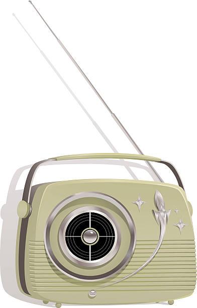 Transistor Radio vector art illustration