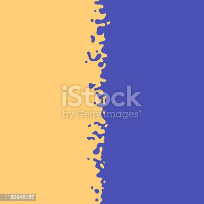 istock Transition Paint Blend Border 1186945157