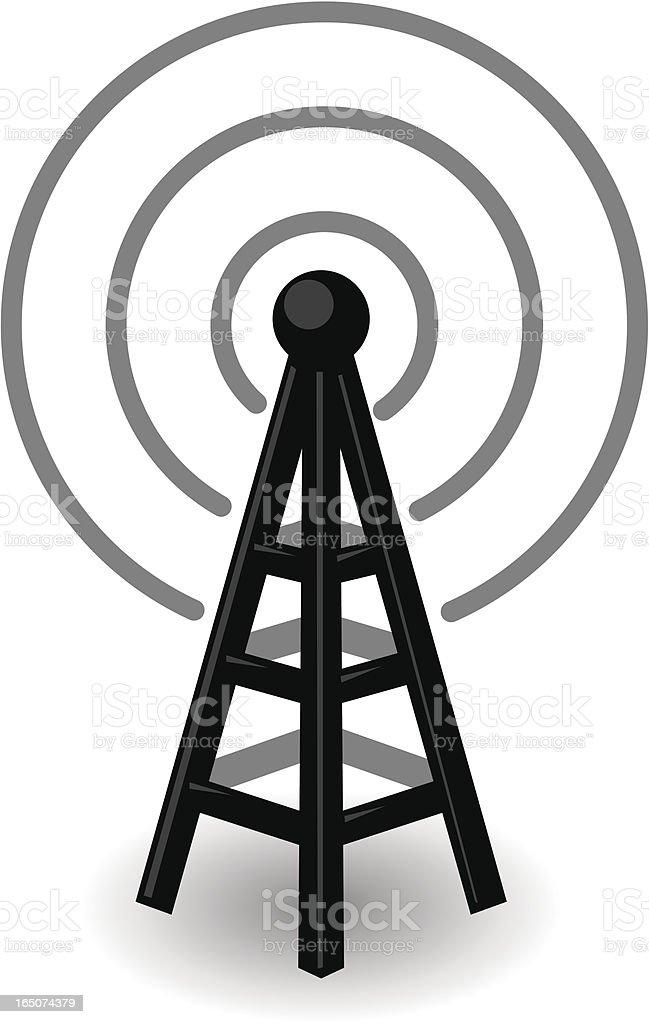 transmiter royalty-free transmiter stock vector art & more images of broadcasting