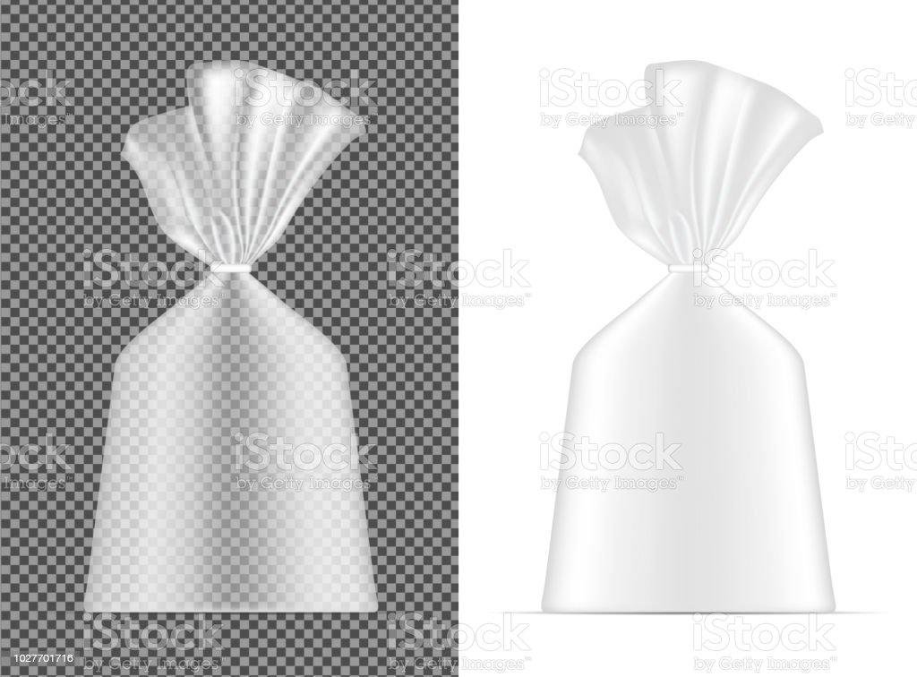 Transparante Leeg Folie Of Papier Verpakking Zakje Voor