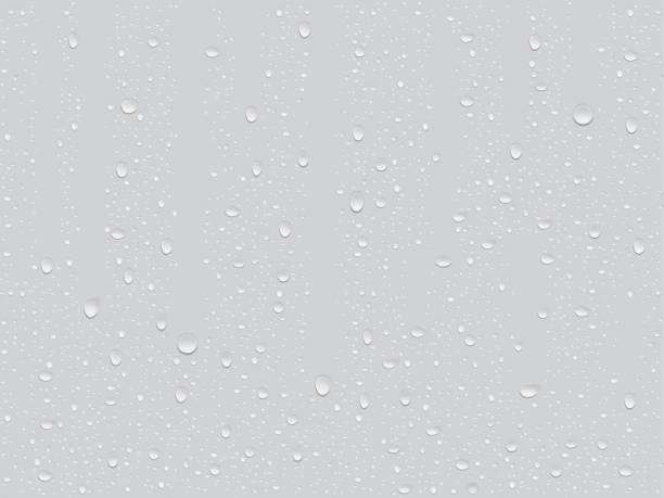 透明な滴 - 水滴点のイラスト素材/クリップアート素材/マンガ素材/アイコン素材