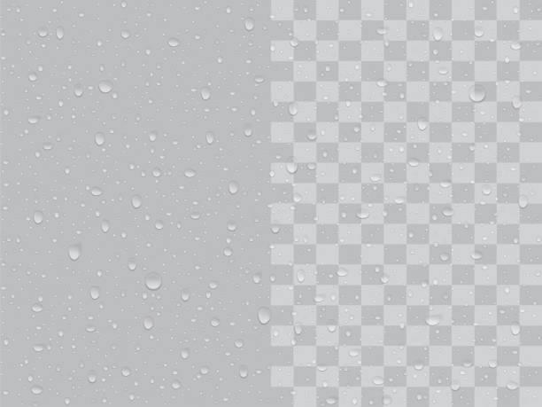 transparent drops - bead stock illustrations, clip art, cartoons, & icons