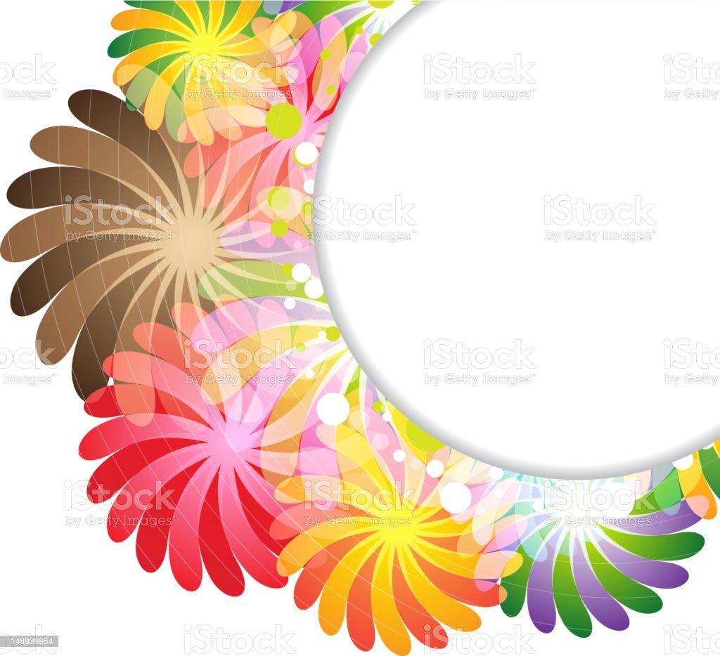 Transparent floral bouquet royalty-free stock vector art