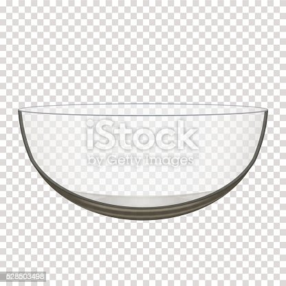 istock transparent glass bowl 528503498