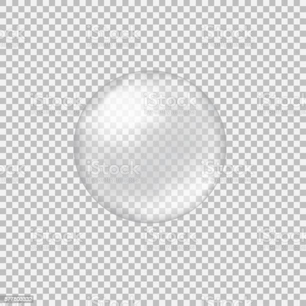 透明玻璃球瞪和亮點向量圖形及更多一個物體圖片