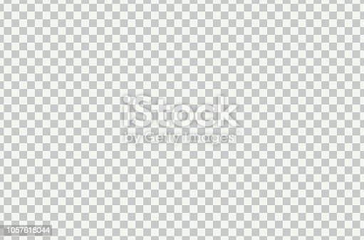 Transparent grid vector background. Transparent grid modern illustration .