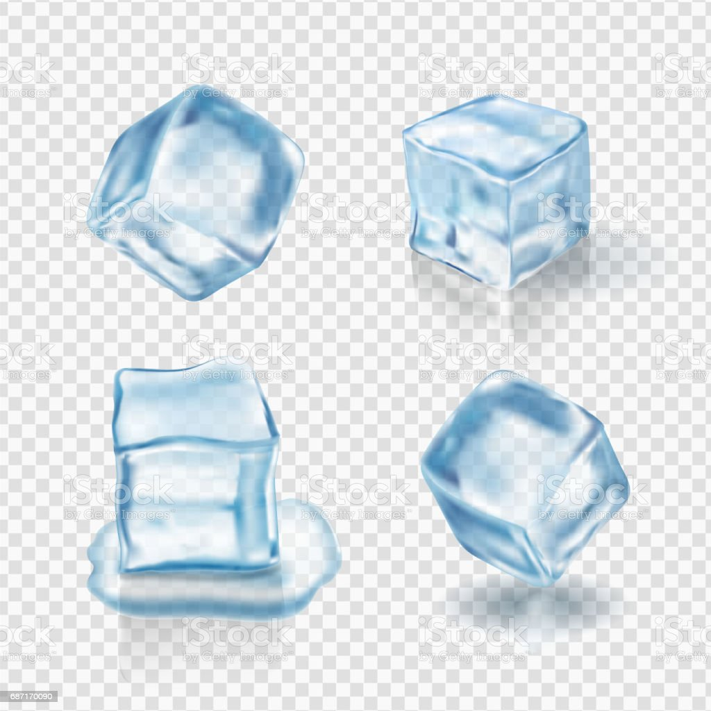 transparent ice cubes in light blue colors realistic vector stock illustration download image now istock transparent ice cubes in light blue colors realistic vector stock illustration download image now istock