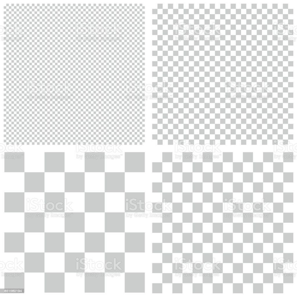 Transparent Pattern Background vector art illustration