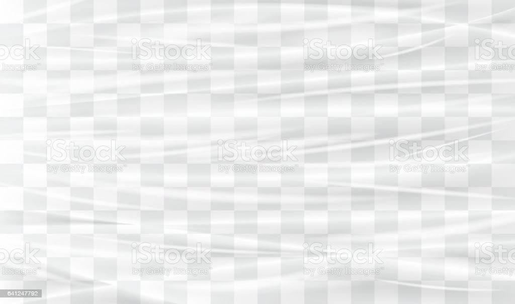 transparent plastic warp vector art illustration