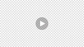 istock Transparent Play button isolated on transparent background. 1225891423