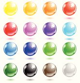 Transparent spheres that can be used in various ways: glass sphere, Oxygen sphere, soap bubbles, water bubbles. Gradients only (no mesh). Global colors used. The bubbles are on separate groups.