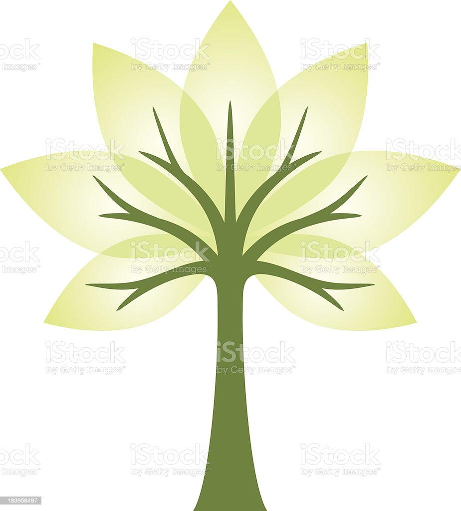transparent tree royalty-free transparent tree stock vector art & more images of green color