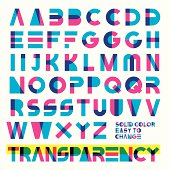 transparent typeset