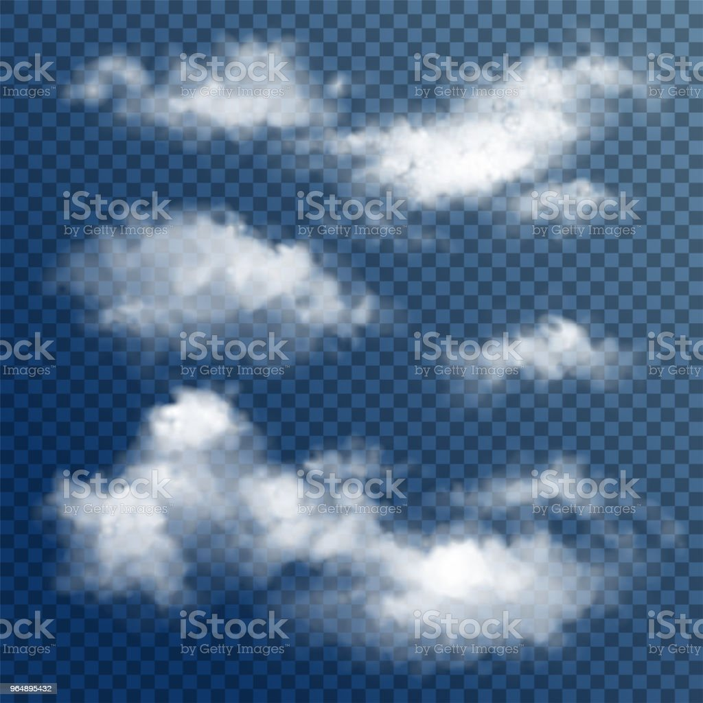 Transparent White Vector Clouds royalty-free transparent white vector clouds stock vector art & more images of abstract