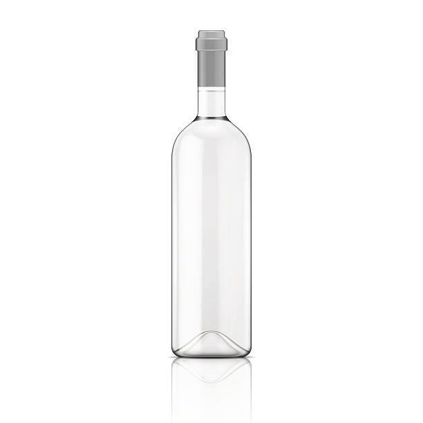 透明のワインボトル 1 本。 - マスカット イラスト点のイラスト素材/クリップアート素材/マンガ素材/アイコン素材