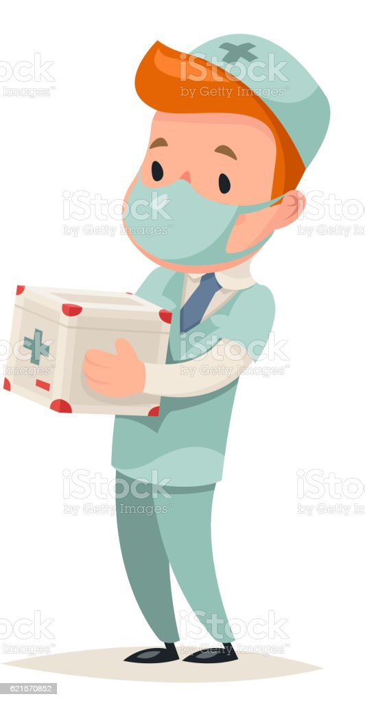 Transplant Surgeon Hold Portable Organ Refrigerator Doctor Character Icon Medic transplant surgeon hold portable organ refrigerator doctor character icon medic – cliparts vectoriels et plus d'images de adulte libre de droits