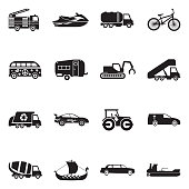 Mode of Transport, Truck, Motorcycle