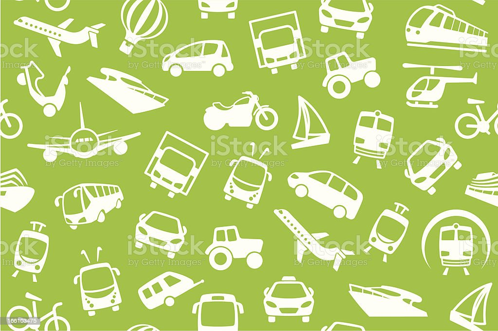Transport background royalty-free stock vector art